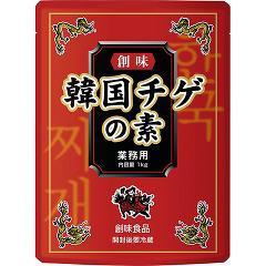 創味食品 韓国チゲの素(1kg)(発送可能時期:1週間-10日(通常))[つゆ]