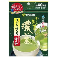 お〜いお茶 濃い茶 さらさら抹茶入り緑茶(32g)(発送可能時期:1週間-10日(通常))[緑茶]