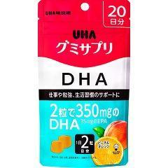 グミサプリ DHA 20日分(40粒)(発送可能時期:3-7日(通常))[DHA EPA]