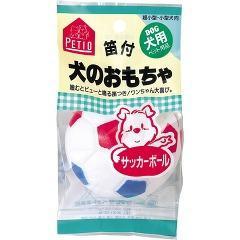 ペティオ 犬のおもちゃ サッカーボール(1コ入)(発送可能時期:3-7日(通常))[犬のおもちゃ・しつけ]