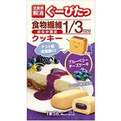ぐーぴたっ クッキー ブルーベリーチーズケーキ(標準15g*3本入)(発送可能時期:3-7日(通常))[ビスケット クッキー]