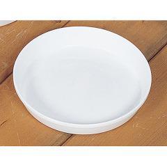 リッチェル 浅皿 3号 ホワイト(1コ入)(発送可能時期:1週間-10日(通常))[鉢・プランター・受皿]