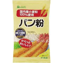 創健社 国内産小麦粉100%パン粉(150g)(発送可能時期:1週間-10日(通常))[パン粉]