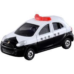 トミカ 箱017 日産 マーチ パトロールカー(1コ入)(発送可能時期:3-7日(通常))[電車・ミニカー]