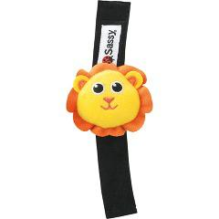 サッシー チャームバンド/ライオン(1コ入)(発送可能時期:1週間-10日(通常))[ベビー玩具・赤ちゃんおもちゃ その他]