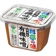料亭の味 無添加 有機味噌(375g)(発送可能時期:1週間-10日(通常))[味噌 (みそ)]