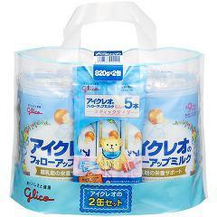 アイクレオのフォローアップミルク(820g*2缶セット)(発送可能時期:1週間-10日(通常))[フォローアップ用ミルク]