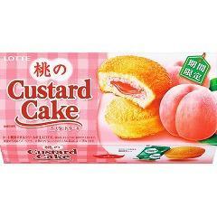 桃のカスタードケーキ(6コ入)(発送可能時期:3-7日(通常))[お菓子 その他]