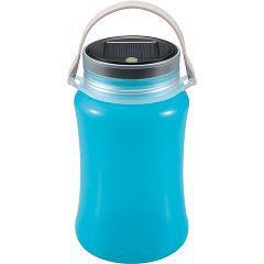 キャプテンスタッグ フローティングLEDランタン ソーラー&USB充電 ブルー UK-4014(1コ入)(発送可能時期:1週間-10日(通常))[ランタン]
