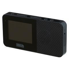 防水ワンセグテレビ 2.3インチ ブラック TV05BK(1コ入)(発送可能時期:3-7日(通常))[携帯テレビ]