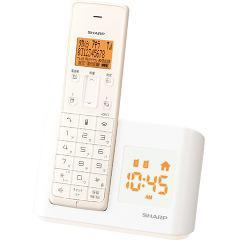 シャープ インテリアホン ホワイト系 JD-BC1CL-W(1セット)(発送可能時期:3-7日(通常))[電話機]