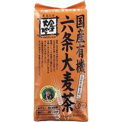 国産有機 六条大麦茶(10g*40袋入)(発送可能時期:1週間-10日(通常))[麦茶]