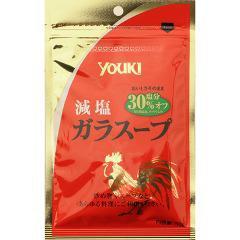 ユウキ 減塩ガラスープ 袋(50g)(発送可能時期:3-7日(通常))[中華調味料]