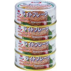 キョクヨー ライトフレークかつお油漬(70g*4)(発送可能時期:3-7日(通常))[水産加工缶詰]