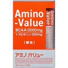 アミノバリュー サプリメントスタイル(4.5g*10袋入)(発送可能時期:3-7日(通常))[アミノ酸 パウダー]