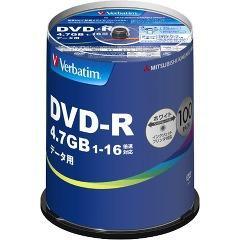 バーベイタム DVD-R データ用 1回記録用 1-16倍速 DHR47JP100V4(100枚入)(発送可能時期:3-7日(通常))[情報家電 その他]