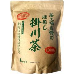 茶工場自慢の深蒸し掛川茶 徳用(1kg)(発送可能時期:1週間-10日(通常))[緑茶]