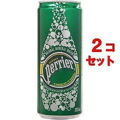ペリエ ナチュラル 炭酸水(330mL*48缶入)(発送可能時期:1-3日(通常))[海外ミネラルウォーター]【送料無料】