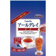 アバンス アールグレイ(36袋入)(発送可能時期:1週間-10日(通常))[紅茶のティーバッグ・茶葉(ストレート)]