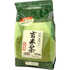 国太楼 たっぷり抹茶入玄米茶(500g)(発送可能時期:1週間-10日(通常))[玄米茶]