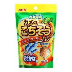 カメ元気 カメのごちそうパン おさかな味(20g)(発送可能時期:3-7日(通常))[かめ]