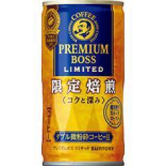 プレミアム ボス リミテッド(185g*30本入)(発送可能時期:1週間-10日(通常))[缶コーヒー(加糖)]