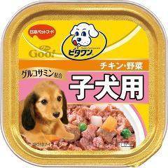 ビタワングー子犬用 チキン&野菜(100g)(発送可能時期:3-7日(通常))[ドッグフード(ウェットフード)]