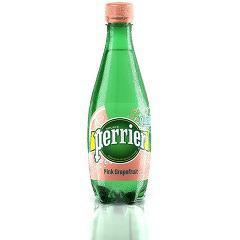ペリエ ピンクグレープフルーツ ペットボトル (無果汁・炭酸水)  (500mL*24本入)(発送可能時期:1-3日(通常))[海外ミネラルウォーター]