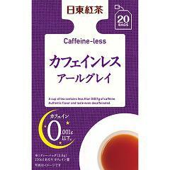 日東紅茶 カフェインレス アールグレイ(20袋入)(発送可能時期:3-7日(通常))[紅茶のティーバッグ・茶葉(フレーバー)]