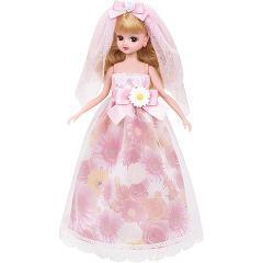 リカちゃん ドレス LW-15 フラワーウエディング(1セット)(発送可能時期:3-7日(通常))[人形]