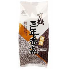 創健社 播磨園 有機三年番茶(400g)(発送可能時期:1週間-10日(通常))[緑茶]