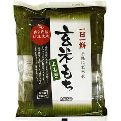 ムソー 玄米もち よもぎ(特別栽培米使用)(315g*7コ入)(発送可能時期:3-7日(通常))[おもち]