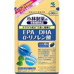 小林製薬の栄養補助食品 DHA EPA α-リノレン酸(305mg*180粒)(発送可能時期:3-7日(通常))[DHA EPA]