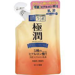 肌ラボ 極潤プレミアム ヒアルロン乳液 つめかえ用(140mL)(発送可能時期:3-7日(通常))[保湿乳液]