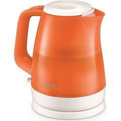 ティファール 電気ケトル デルフィニヴィジョン オレンジ KO151OJP(1台)(発送可能時期:3-7日(通常))[電気ポット・電気ケトル]