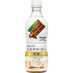 ダイドーブレンド ミルクコーヒー(450mL*24本入)(発送可能時期:1週間-10日(通常))[カフェオレ]【送料無料】