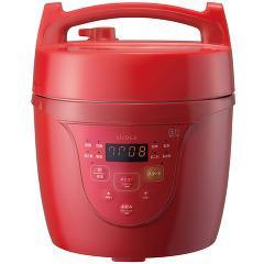 シロカ マイコン電気圧力鍋 クックマイスター レッド SPC-101RD(1台)(発送可能時期:3-7日(通常))[グリル鍋]