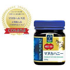 マヌカヘルス マヌカハニー MGO100+(250g)(発送可能時期:3-7日(通常))[ダイエットフード その他]