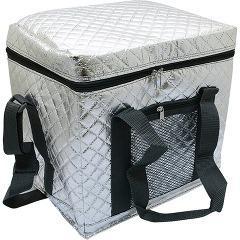 プロリーブ 折りたためるソフトクーラーバッグ保冷バッグ Lサイズ(1コ入)(発送可能時期:1週間-10日(通常))[保存用バッグ ポリ袋]