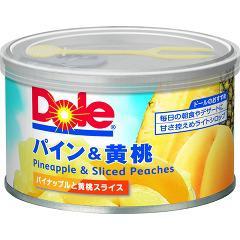 ドール パイン&黄桃(227g)(発送可能時期:3-7日(通常))[フルーツ加工缶詰]