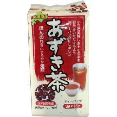 健茶館 あずき茶 ティーバッグ(8g*16包)(発送可能時期:1週間-10日(通常))[お茶 その他]