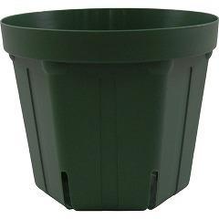 スリット鉢 CSM-150 モスグリーン(1コ入)(発送可能時期:1週間-10日(通常))[鉢・プランター・受皿]