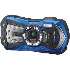 リコー タフネスカメラ ブルー WG-40W(1台)(発送可能時期:1週間-10日(通常))[情報家電 その他]
