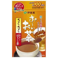 お〜いお茶 さらさらほうじ茶(80g)(発送可能時期:1週間-10日(通常))[ほうじ茶]