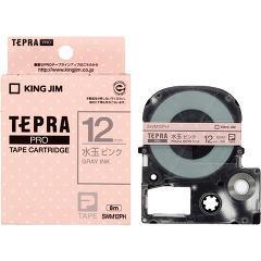 テプラ・プロ テープカートリッジ 模様ラベル 水玉ピンク 12mm SWM12PH(1コ入)(発送可能時期:3-7日(通常))[ラベルライター]