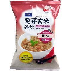 【訳あり】DHC 発芽玄米雑炊 梅味(1食入)(発送可能時期:3-7日(通常))[ダイエット リゾット 粥]