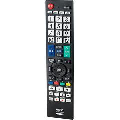 エルパ 地上デジタル用テレビリモコン シャープテレビ用 RC-TV009SH(1コ入)(発送可能時期:3-7日(通常))[映像関連 その他]