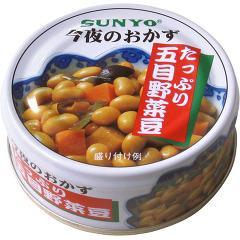 今夜のおかず たっぷり五目野菜豆(70g)(発送可能時期:1週間-10日(通常))[缶詰類その他]