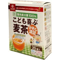 はくばく こども喜ぶ麦茶(20袋入)(発送可能時期:1週間-10日(通常))[麦茶]