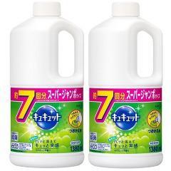 キュキュット マスカットの香り つめかえ用(1.38L*2コセット)(発送可能時期:3-7日(通常))[食器用洗剤(つめかえ用)]
